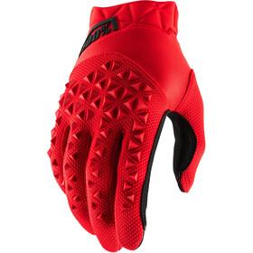 100% Airmatic Rękawiczki Dzieci, red/black